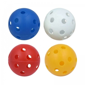 Perforated hollow ball